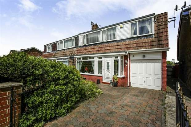 4 Bedrooms Semi Detached House for sale in College View, Consett, Durham