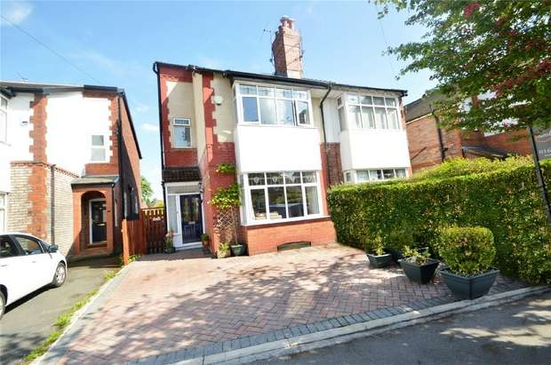 4 Bedrooms Semi Detached House for sale in Hazelwood Road, Woodsmoor, Stockport, Cheshire