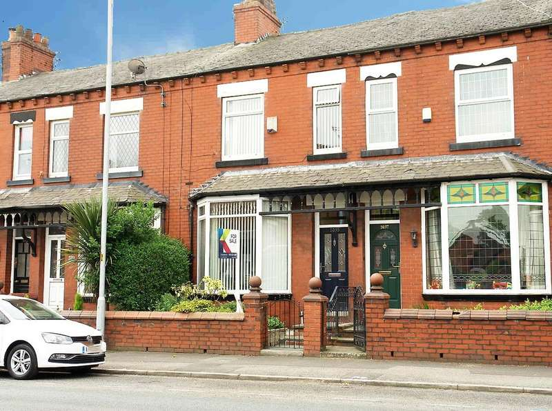 3 Bedrooms Terraced House for sale in 1035 Middleton Road, Chadderton, Oldham