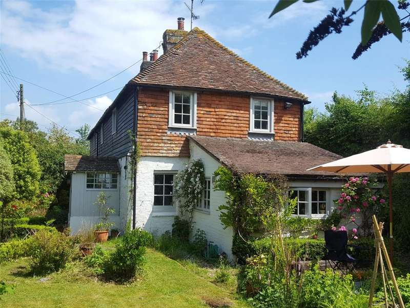 3 Bedrooms Semi Detached House for sale in Crown Cottages, Pulborough Road, Cootham, Pulborough,West Sussex, RH20