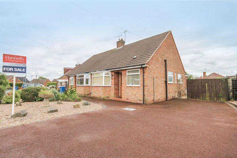 2 Bedrooms Semi Detached Bungalow for sale in HADDON DRIVE, MICKLEOVER