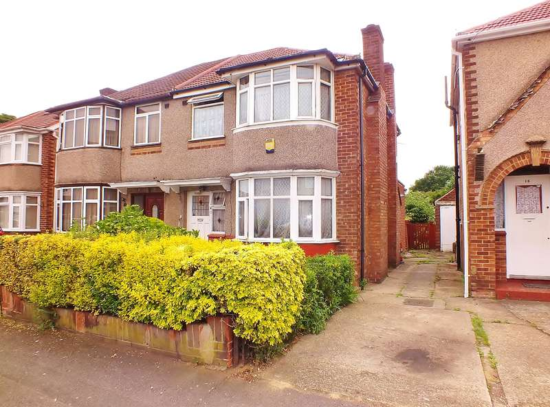 3 Bedrooms Semi Detached House for sale in Roseville Road, Hayes, UB3 4QX