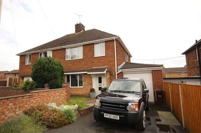 3 Bedrooms Semi Detached House for sale in Hilary Grove, Buckley, Flintshire