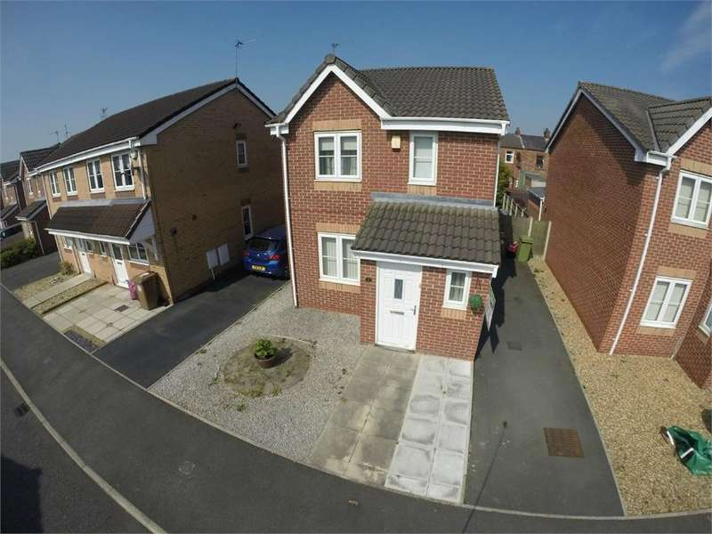 3 Bedrooms Detached House for sale in Boxwood Gardens, Sutton, St Helens, Merseyside