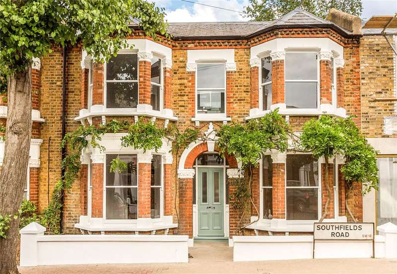 3 Bedrooms Terraced House for sale in Southfields Road, London, SW18