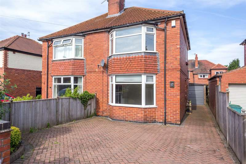 2 Bedrooms Semi Detached House for sale in White House Drive, York, YO24