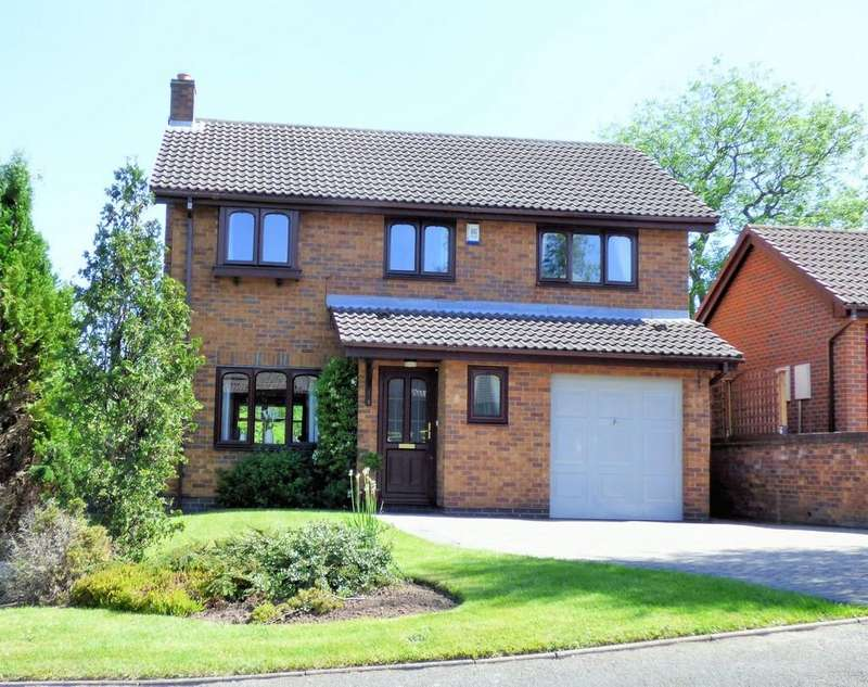 4 Bedrooms Detached House for sale in Ashdale Close, Burton-on-Trent