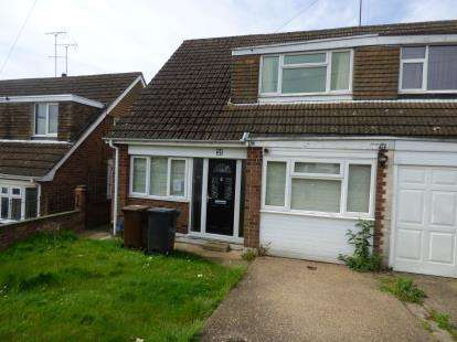 4 Bedrooms Semi Detached House for sale in Heatherdale Way, Links View, Northampton, Northamptonshire