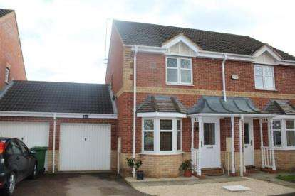 2 Bedrooms Semi Detached House for sale in Meadenvale, Peterborough, Cambridgeshire