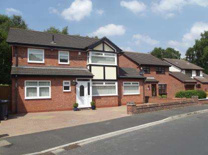4 Bedrooms Detached House for sale in Rainbow Drive, Halewood, Liverpool, Merseyside, L26