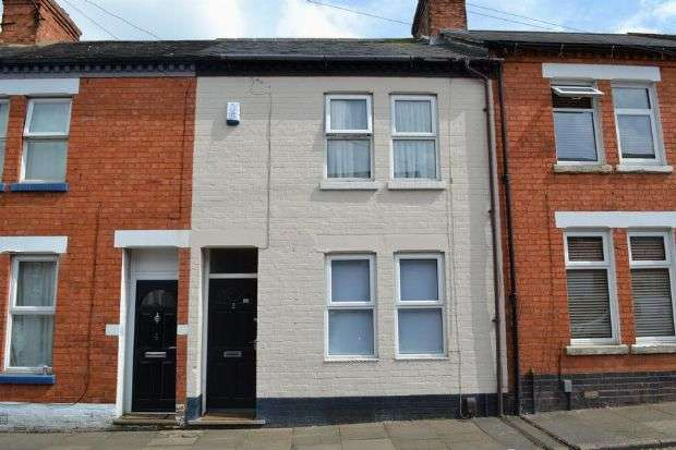 2 Bedrooms Terraced House for sale in Cowper Terrace, Kingsley, Northampton NN2 7JB