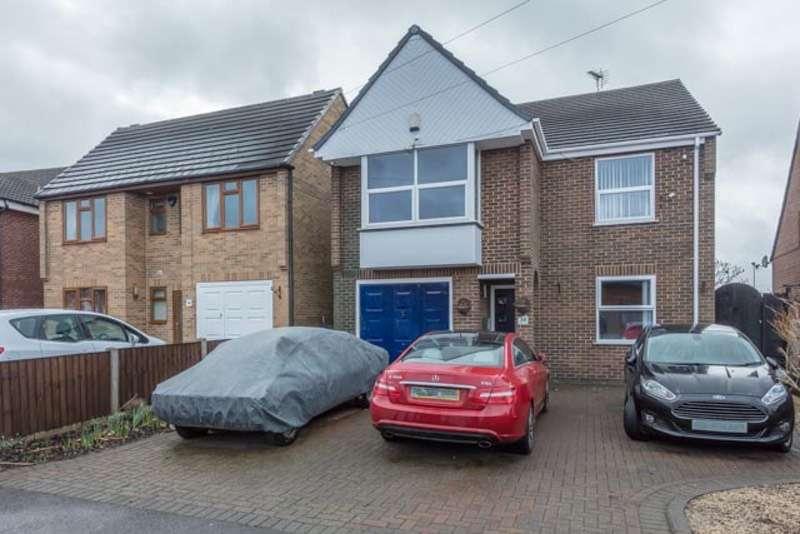 4 Bedrooms Detached House for sale in TRENTON DRIVE, LONG EATON, Nottinghamshire, NG10