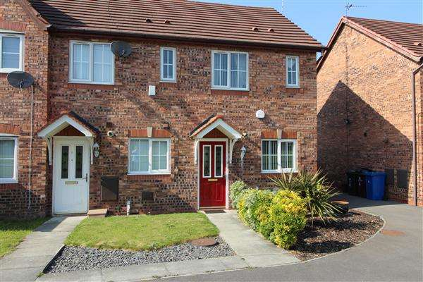 2 Bedrooms Semi Detached House for sale in Oconnor Grove, Kirkby
