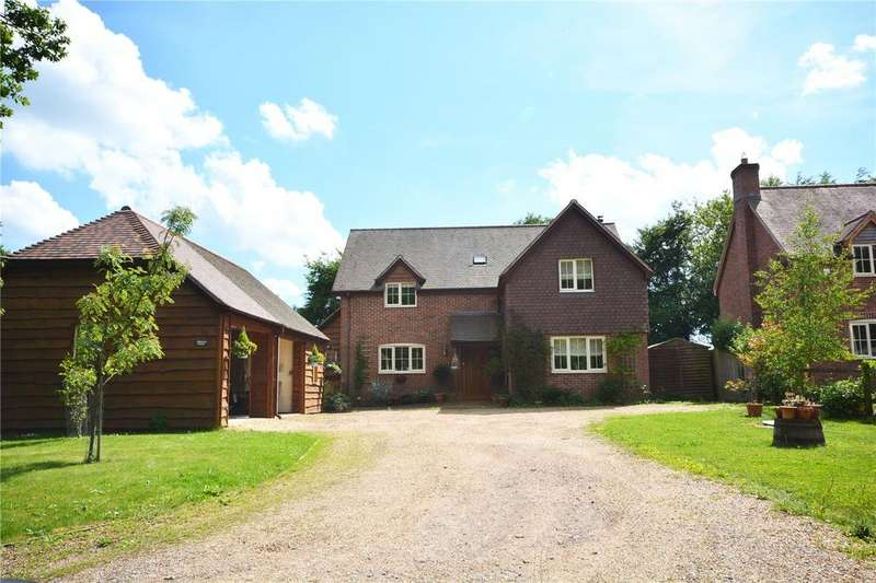 4 Bedrooms Detached House for sale in Newtown Road, Awbridge, Romsey, Hampshire, SO51