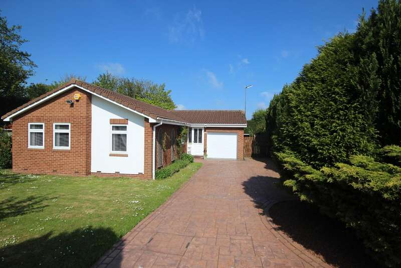 3 Bedrooms Detached Bungalow for sale in Pine Lodge, Claverley Drive, Backworth, Newcastle upon Tyne, NE27