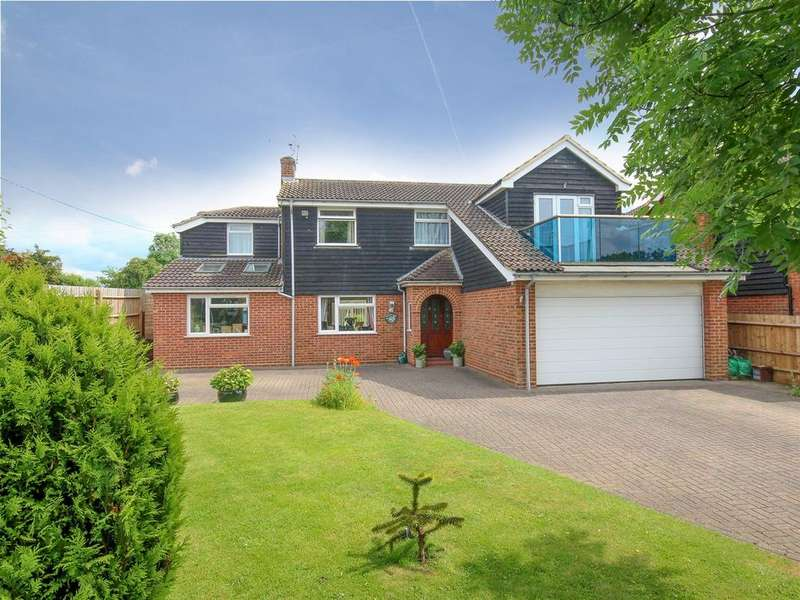 4 Bedrooms Detached House for sale in Greenfield Road, Flitton, Bedford, MK45