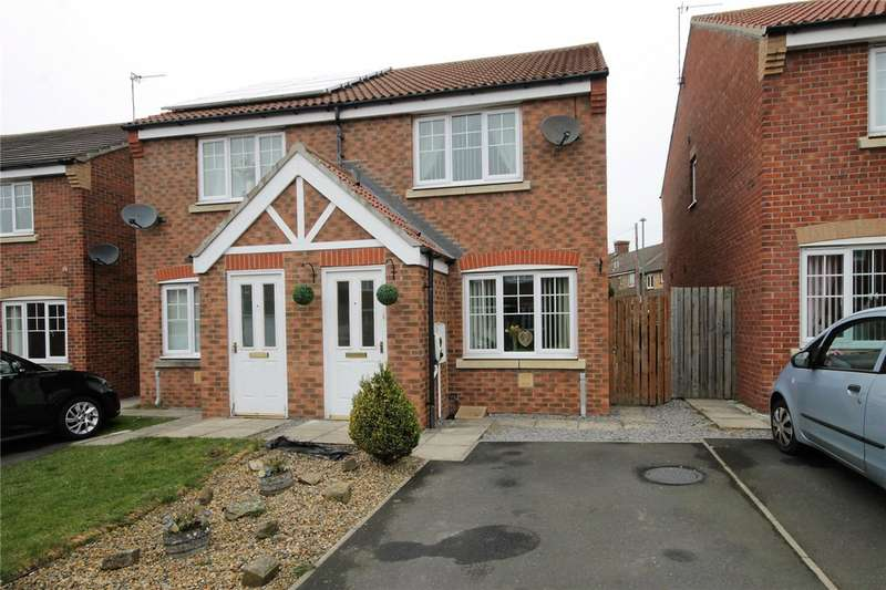 2 Bedrooms Semi Detached House for sale in Temple Forge Mews, Consett, County Durham, DH8