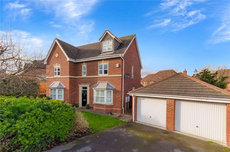 5 Bedrooms Detached House for sale in Langford Gardens, Grantham, NG31