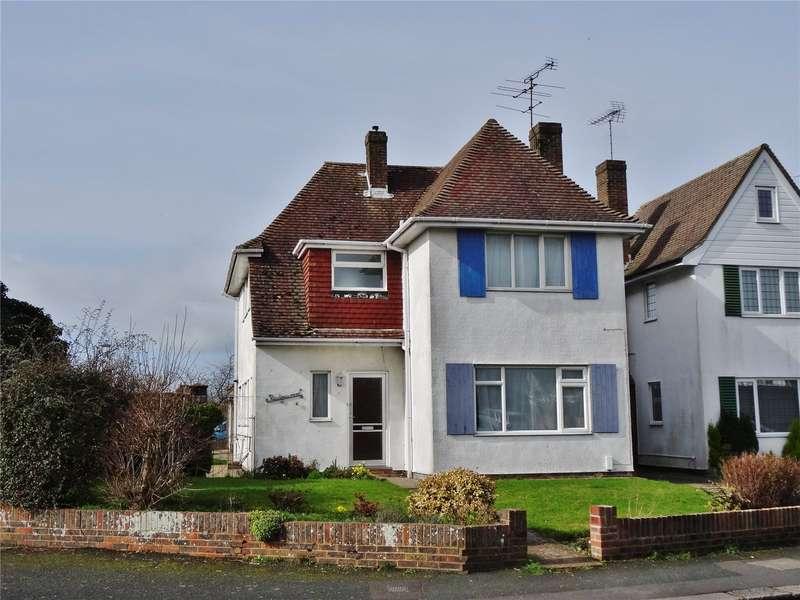 4 Bedrooms Detached House for sale in Half Moon Lane, Salvington, Worthing, BN13