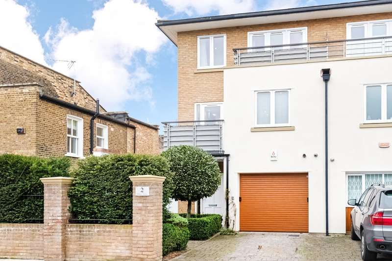 4 Bedrooms Semi Detached House for sale in Bonney Terrace, Ravenscourt Square, London, W6