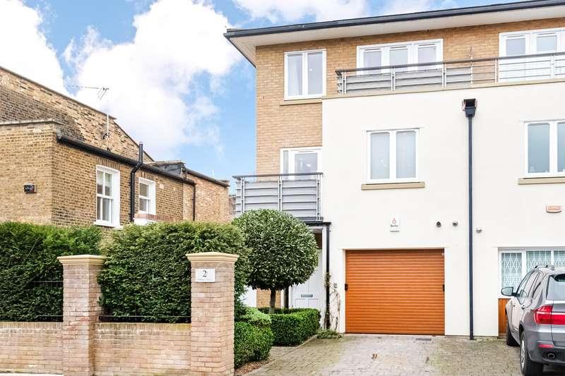 4 Bedrooms Semi Detached House for sale in Bonney Terrace, Ravenscourt Square, London, W6