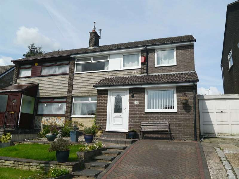 4 Bedrooms Semi Detached House for sale in Avon Road, Summit, Heywood, Lancashire, OL10
