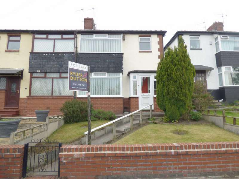 3 Bedrooms Semi Detached House for sale in Bentley Avenue, Slattocks, Middleton, Manchester, M24