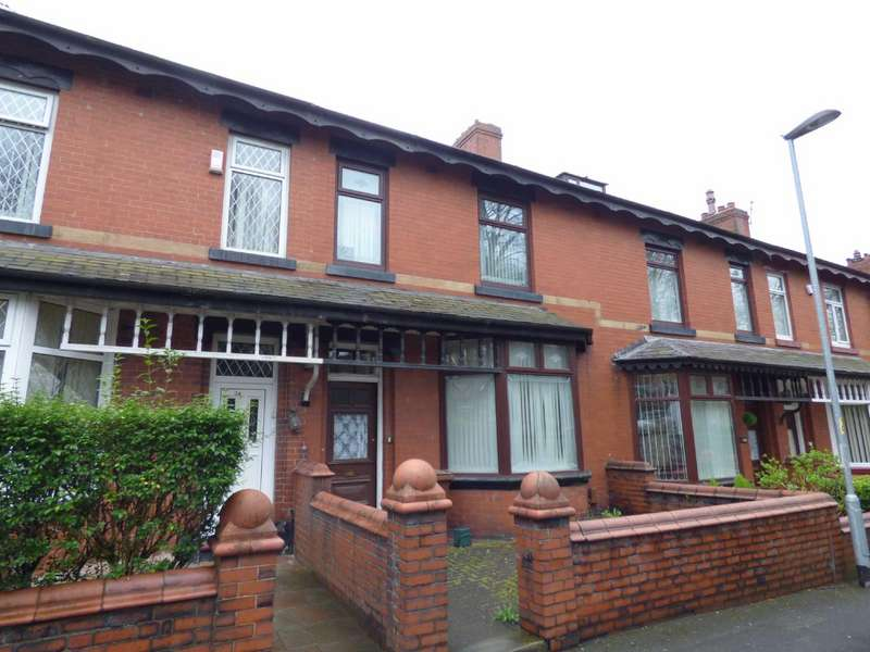 3 Bedrooms Terraced House for sale in Grange Avenue, Coppice, Oldham, OL8