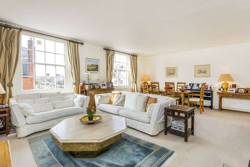 3 Bedrooms Flat for sale in Rivermead Court, Ranelagh Gardens, Putney Bridge, Fulham, SW6