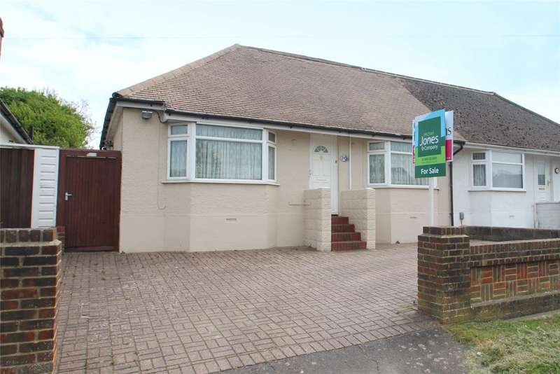 3 Bedrooms Semi Detached Bungalow for sale in Busticle Lane, Sompting, West Sussex, BN15