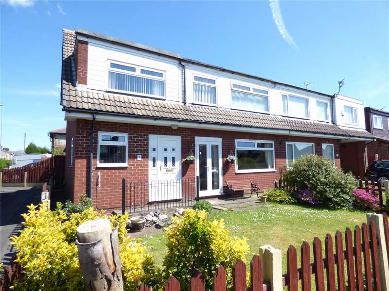 3 Bedrooms Semi Detached House for sale in Glenavon Drive, High Crompton, Shaw, Oldham, OL2