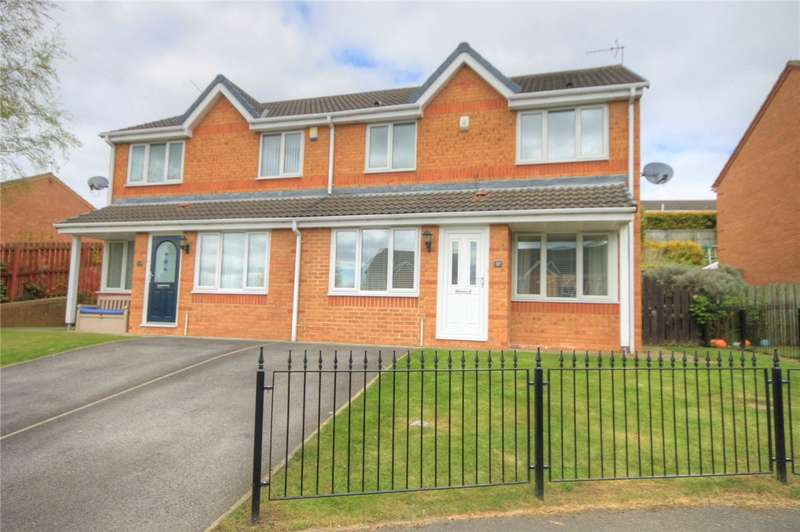 3 Bedrooms Semi Detached House for sale in Sheridan Drive, East Stanley, Stanley, DH9