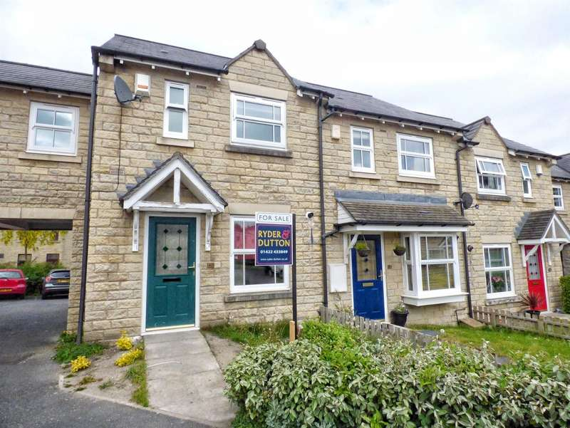 3 Bedrooms Terraced House for sale in Hastings Way, Savile Park, Halifax, West Yorkshire, HX1