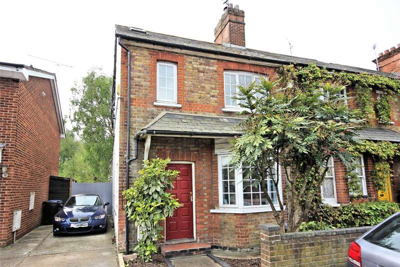 3 Bedrooms Semi Detached House for sale in High Street, Old Woking, Woking, Surrey, GU22
