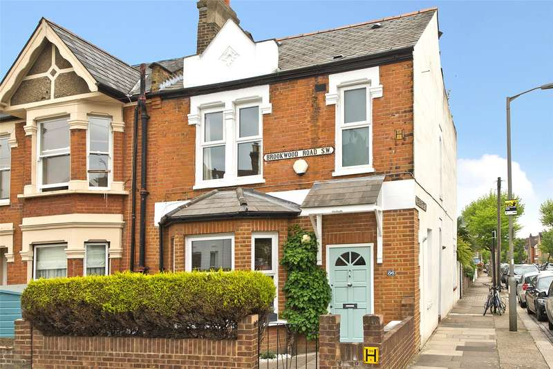 3 Bedrooms End Of Terrace House for sale in Brookwood Road, Southfields, London, SW18