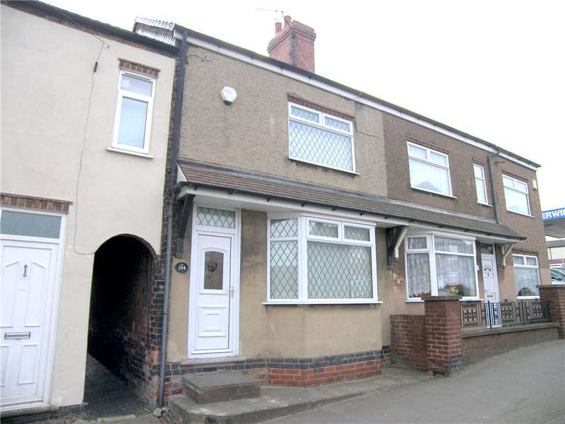 2 Bedrooms Terraced House for sale in Somercotes Hill, Somercotes, Alfreton, Derbyshire, DE55