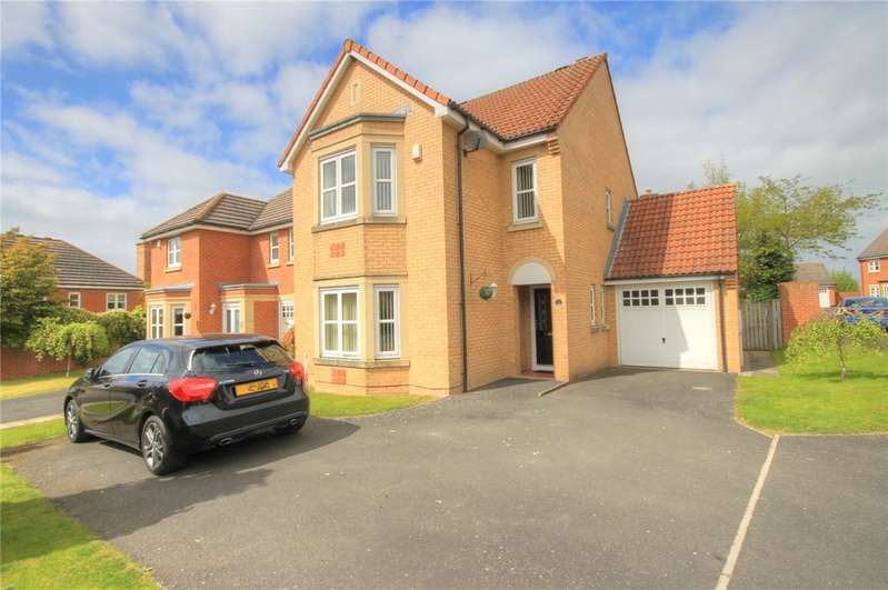 4 Bedrooms Detached House for sale in Badgers Wood, Stanley, Durham, DH9