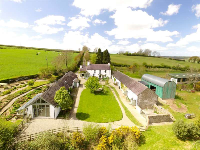 5 Bedrooms Detached House for sale in Pantyporthman, Bancyffordd, Llandysul, Sir Gaerfyrddin