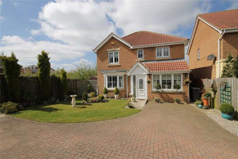 4 Bedrooms Detached House for sale in Fenwick Way, Consett, County Durham, DH8
