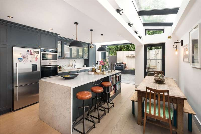 4 Bedrooms Terraced House for sale in Bracewell Road, North Kensington, London, W10