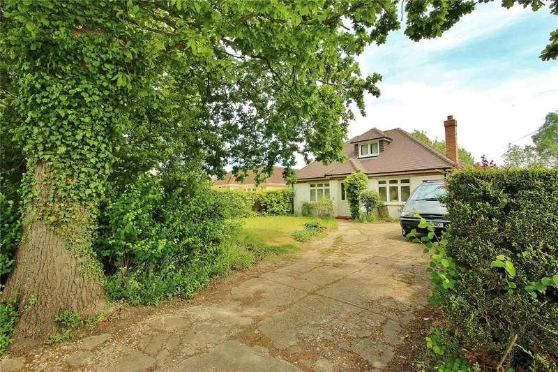 4 Bedrooms Detached Bungalow for sale in Scotts Grove Road, Chobham, Woking, Surrey, GU24