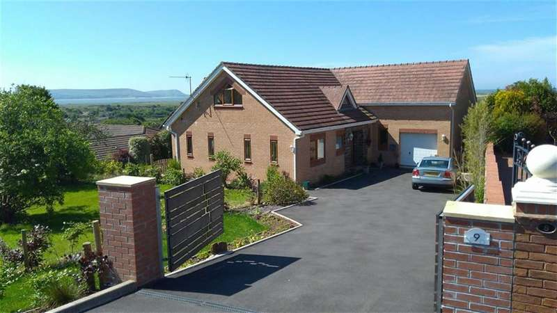 5 Bedrooms Detached House for sale in St Illtyd Rise, Pembrey