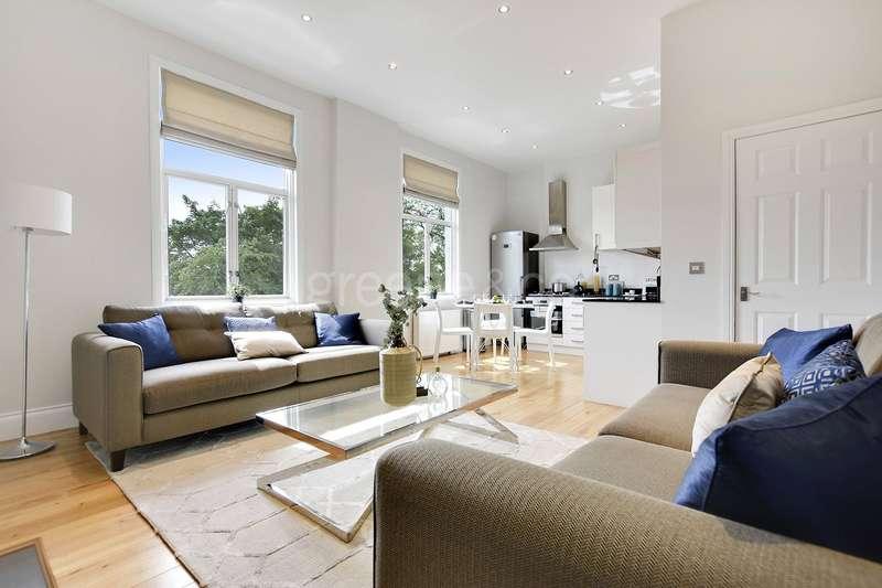 3 Bedrooms Flat for sale in Cavendish Road, Brondesbury, London, NW6