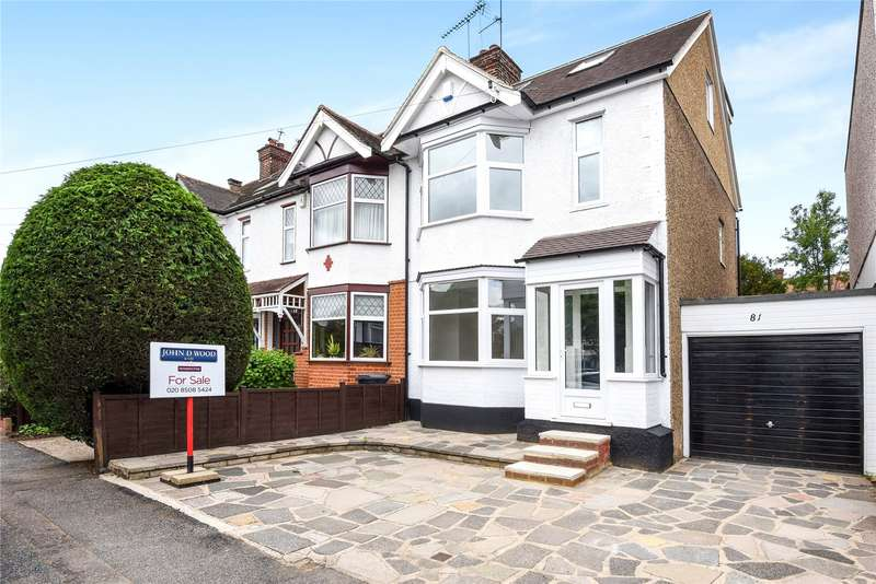 4 Bedrooms End Of Terrace House for sale in Chestnut Avenue, Buckhurst Hill, Essex, IG9