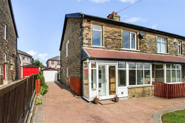 3 Bedrooms Semi Detached House for sale in The Avenue, Clayton, Bradford, West Yorkshire
