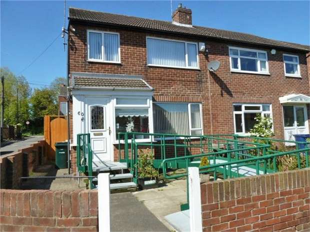 3 Bedrooms Semi Detached House for sale in Gillies Street, Newcastle upon Tyne, Tyne and Wear