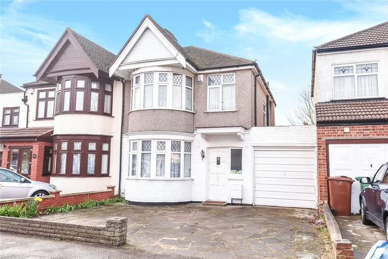 3 Bedrooms Semi Detached House for sale in Elmsleigh Avenue, Harrow, Middlesex, HA3