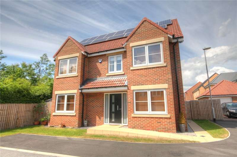 4 Bedrooms Detached House for sale in Rushyford Drive, Chilton, County Durham, DL17