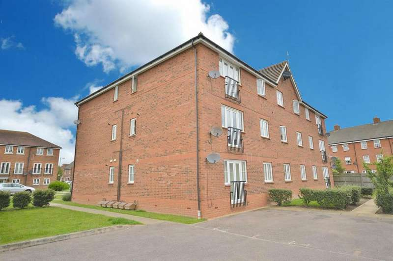 2 Bedrooms Apartment Flat for sale in Cunningham Avenue, Salisbury Village, Hatfield
