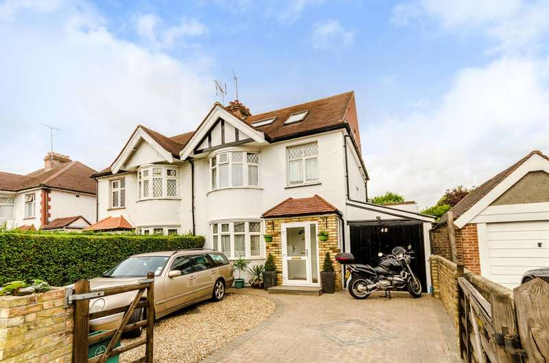 5 Bedrooms Semi Detached House for sale in Upper Brighton Road, Surbiton, KT6